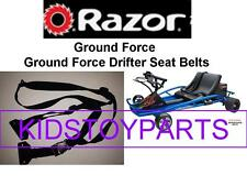 NEW! Razor GROUND FORCE DRIFTER Seat Belts for Versions V8+
