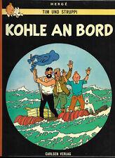 Tim und Struppi Kohle an Bord - TOP Z1 CARLSEN COMIC-ALBUM von 1975 Hergé