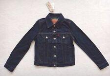Abrigos y chaquetas de mujer azules Levi's de 100% algodón