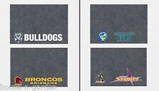 NRL BRISBANE BRONCOS MULTIPURPOSE DOOR DESK BBQ BEDROOM BATHROOM MAT HOME DECOR
