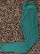 Lularoe OS One Size Solid Green Legging (b13)