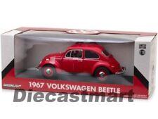 Artículos de automodelismo y aeromodelismo rojos Volkswagen de escala 1:18