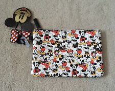 Disney Mickey & Minnie Mouse Zip Pouch Purse New Primark