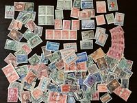 HUGE GREECE STAMPS LOT MINT AND USED, BLOCKS, OVERPRINTS AND MORE