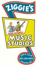 Sticker Ziggie's Music Neon sign