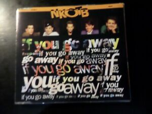 CD SINGLE - NEW KIDS ON THE BLOCK - IF YOU GO AWAY