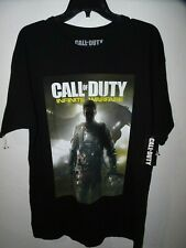 CALL OF DUTY INFINITE WARFARE Mens T Shirt size Large New Black Activision