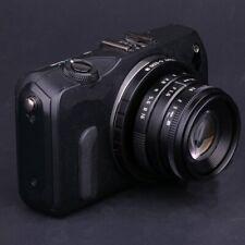 FUJIAN 35mm f/1.6 C Mount CCTV f1.6 lens for Canon EOS M EF-M Mirrorless Camera