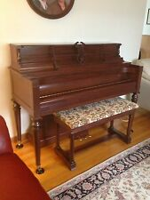 Chickering Upright Studio Piano, Professionally Refurbished, Excellent Condition