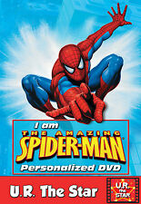 SPIDERMAN DVD starring YOU! FREE POSTAGE WORLDWIDE