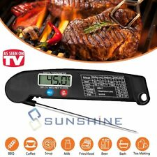 Digital Electronic Meat Thermometer Instant Read Kitchen Cooking BBQ Grill Food