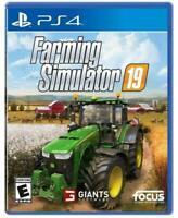 Farming Simulator 19 (PlayStation 4, 2018)