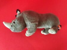Quality Plush Grey Rhinoceros by Wild Republic