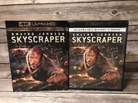 Skyscraper (4K Ultra HD + Blu Ray, 2018) Dwayne Johnson, Neve Cambell Movie