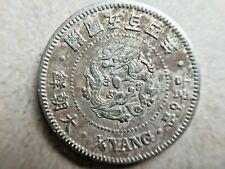 1895 Korea Empire 1/4 Yang Cu-Ni, Year 504.Rare Coin.PCGS has 2 Coins 大朝鮮 開國五百四年
