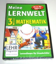 MEINE LERNWELT: GRUNDSCHULE MATHEMATIK KLASSE 3 PC MAC Mathe NEU Lernsoftware