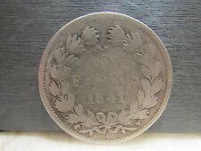 monnaie piece 5 F francs 1841 louis philippe I