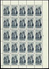 CHILE, Santo Domingo Convent, year 1969, full sheet of 25, MNH, VERY NICE SHEET