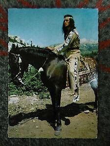 """Alte Fotopostkarte """"Pierre Brice"""""""