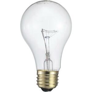 Philips 40W Frosted Medium A19 Incandescent Garage Door Opener Light Bulb Pack