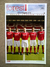 Nottingham Forest v AFC Bournemouth - Coca-Cola League 1 2007/08 Programme