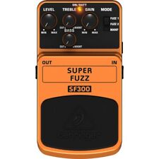 Behringer Sf300 Fuzz Distortion effetto a Pedale