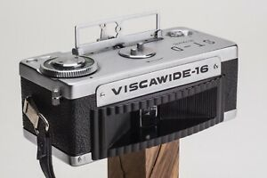 Viscawide 16 ST-D 16mm Swing-Lens 120º Panorama Camera With Film Cartridges