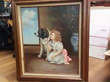 Original Oil Painting Signed Robert Estate Piece ATTRIBUTED Robert Atkinson Fox