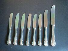 WMF 3200 Barock 6 sehr seltene kleine Obstmesserchen  90 er Silberauflage