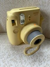 Fugifilm instax mini 8 instant camera Yellow Tested USA Seller