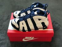 """NIKE AIR MORE UPTEMPO """"OLYMPIC Release"""" Size 7y Men 415082-104"""