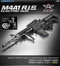 [X-MAS] ACADEMY M4A1 R.I.S Electric Gun 6mm / 20mm Rail Interface System
