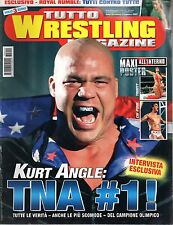 Tutto Wrestling Magazine.Kurt Angle,Stone Cold vs The Rock,Owen Hart,Kelly Kelly