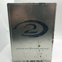 Halo 2: Limited Collector's Edition Steel Case, NO GAME just the Collectors Disc