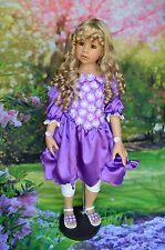 "Masterpiece  Dolls Lillian Sculpt,  Blue Eyes by Monika Levenig 44"" Exclusive"