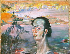 SALVADOR DALI, SELF PORTRAIT WITH THE NECK OF RAPHAEL OFFS. LITHO 1976, UNSIGNED