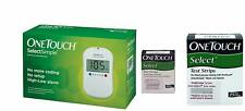 OneTouch Select Simple Glucometer + 35 Free Tests Strips, (Combo Pack)