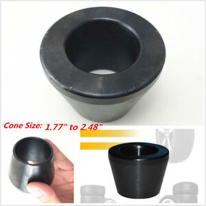 "1.77""to 2.48"" Car Wheel Balancer Standard Taper Cone 36mm Shaft #45 Carbon Steel"