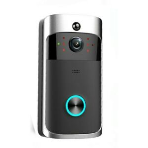 Wireless Video WIFI Doorbell Two Way Talk Smart Home Security Night Vision