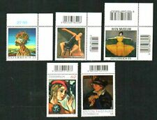 5 MODERN ART ISSUES 2005 - 2015 SUPERB MNH AUSTRIA STAMPS