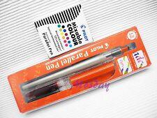 Pilot Calligraphy P-FP-120R-15 Parallel Pen 1.5mm Nib + 12 Colors Cartridges