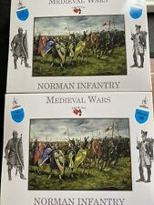 A Call To Arms 1/32 Medieval Wars - Norman Infantry - Series 36   TWO BOXES