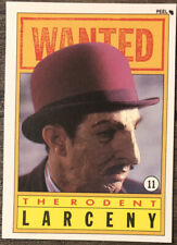 Topps Dick Tracy Sticker - #11 The Rodent