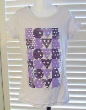 Gap Girl's Tee 8 Love Graphic Short Sleeve Cotton Top Gray Medium New