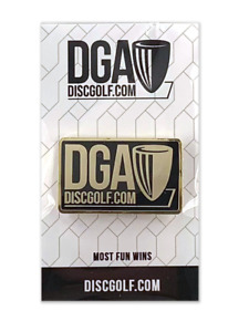 DGA Logo Disc Golf Pin, Pick Color