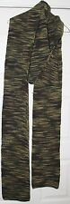 """Handmade, Knitted Scarf, """"Camouflage"""", 12 ft, 6 inches Long, Acrylic"""