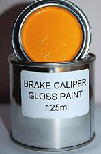 ORANGE BRAKE CALIPER PAINT METAL ENGINE High Temperature 125ml