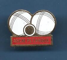 Pin's pin PETANQUE ASCM (ref 047)