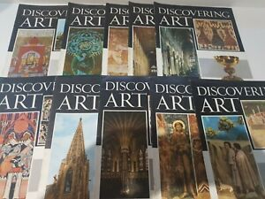 VINTAGE DISCOVERING ART VOLUME 3 MAGAZINE COLLECTION 1960S EXCELLENT COND .