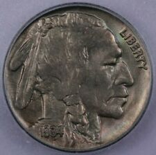 1934 Buffalo Nickel ICG MS64 beautiful coin with hints of color in the field!
